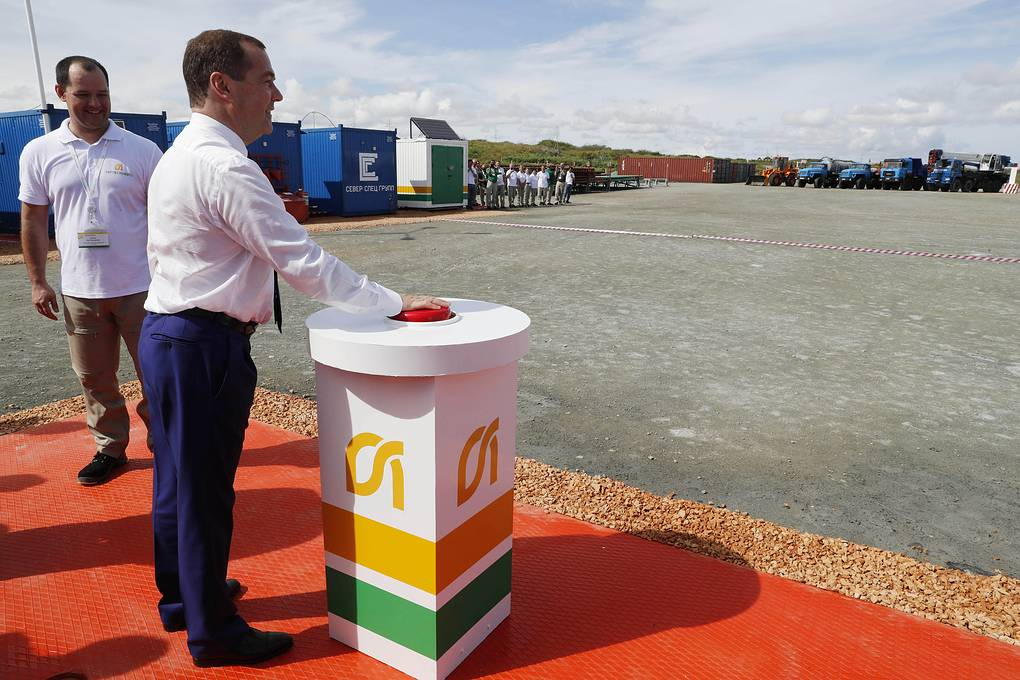 Запуск горизонтальной скважины на кубинском нефтяном месторождении
