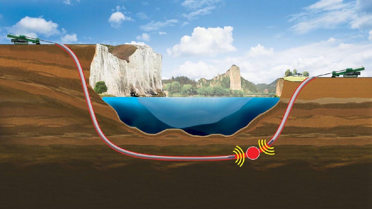 Прокладка трубопровода методом ГНБ