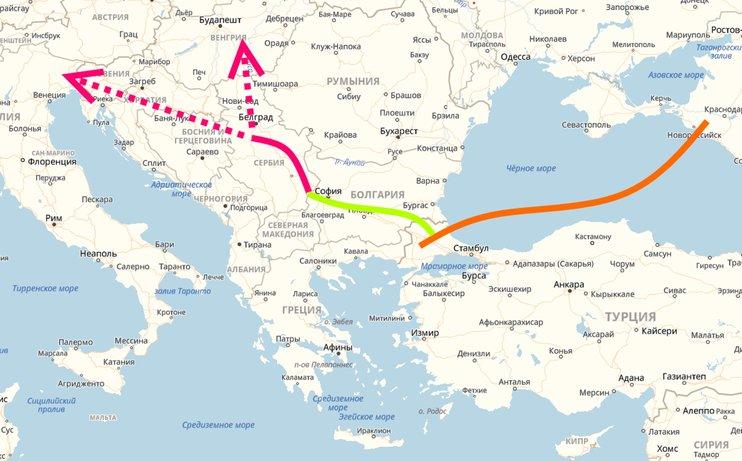 Сербский участок «Турецкого потока» самый длинный переход под рекой в Европе