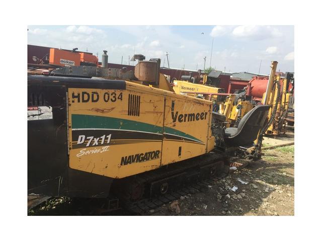 Vermeer Navigator D7x11 установка гнб