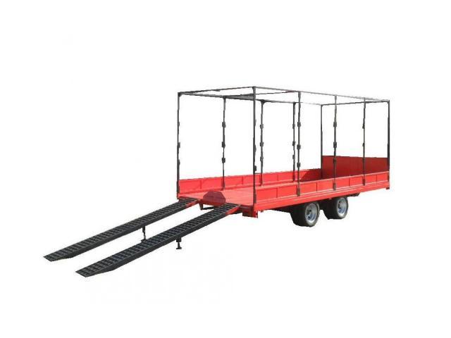 Низкорамный прицеп для перевозки ГНБ установок до 6 тонн