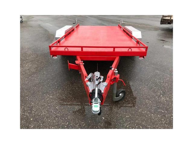 Автомобильный прицеп для ГНБ установок до 3х тонн