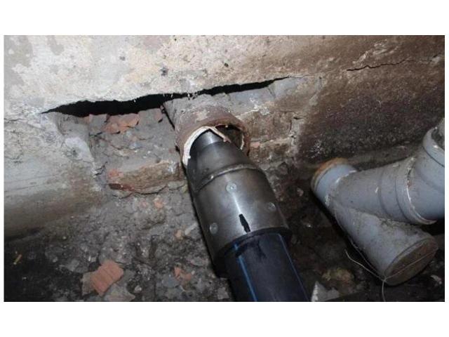 Разрушение труб с затягиванием новой. гнб-Бурение