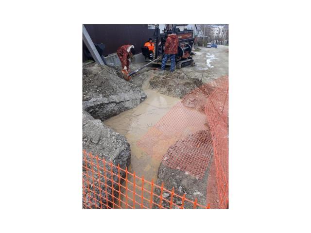 Гнб (прокол под дорогой) в сложных грунтах (скала)
