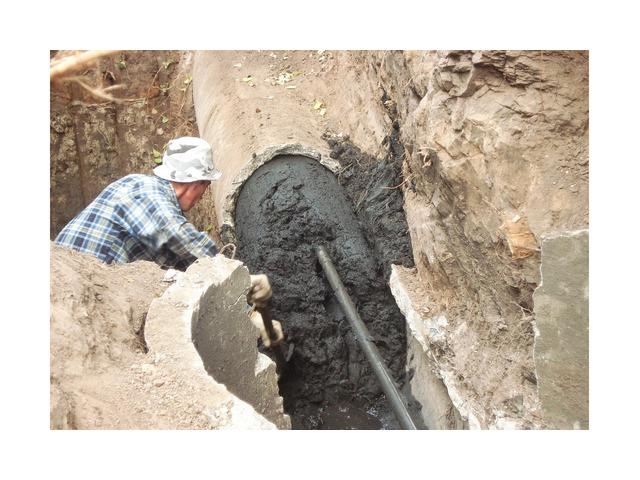 Капитальный ремонт канализации бестраншейным метод