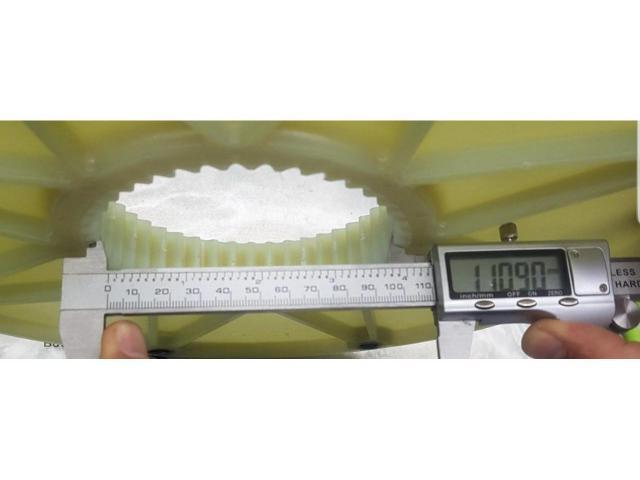 """010651603141 BoWex 65 FLE-PA фланец 10"""" 314,25 мм H8,D0=295.27 (KTR)"""