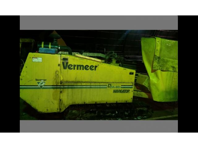Установка горизонтального бурения Vermeer Navigator D 24x40