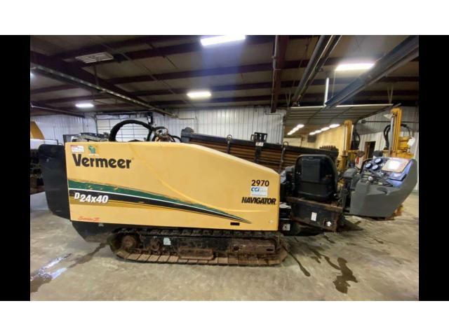 Гнб установка vermeer D24X40 S2 2012