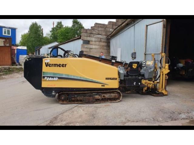 Буровая установка гнб vermeer D24X40 2014