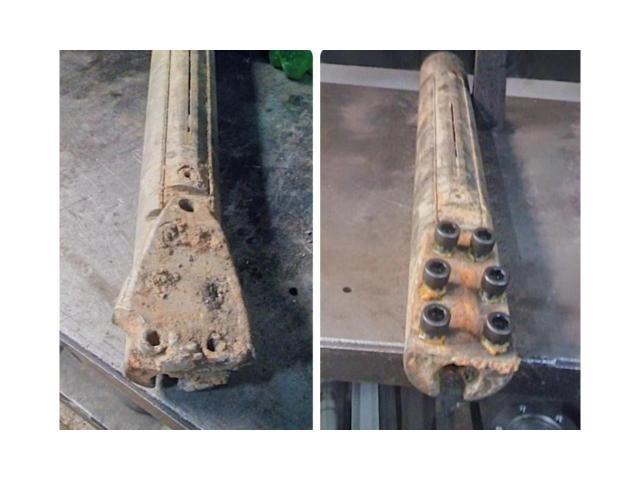Восстановление резьбы, ремонт гнб