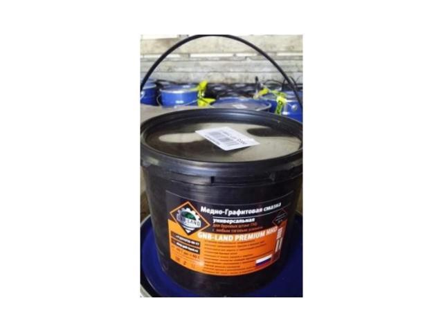 Медно- графитовая смазка для для буровых штанг гнб